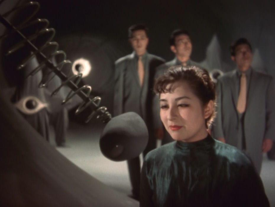 ภาพยนตร์: Warning from Space (1956) โดย Koji Shima
